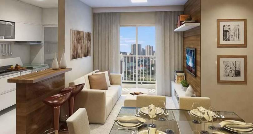 Apartamento Pequeno e Formas de Aproveitar o Espaço